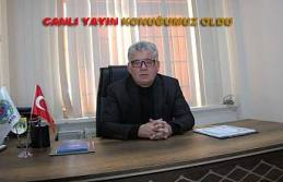 Hacıoğlu Pamukovahaber Canlı Yayın'ına Edirne den Konferans sistemi ile katıldı.