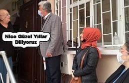 CHP'liler Yaşlılara Saygı Haftasında onların gönüllerini aldılar