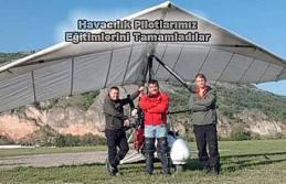Pamukova'nın ilk sportif Havacılık Pilotları...