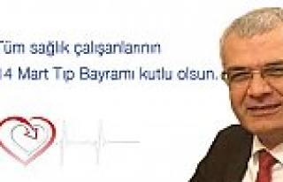 CHP İl Başkanı Isır; '14 Mart Tıp Bayramımız...