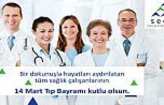 Sedaş'tan 14 Mart Tıp Bayramını Kutlama Mesajı