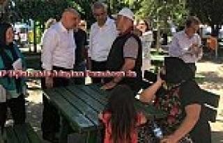 CHP Milletvekili Adayları Pamukova esnafının sorunlarını...