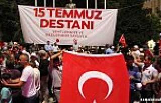 15 Temmuz Darbe girişiminin ikinci yılında Türk...