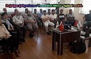 Akmercan GEPA doğalgaz çalışanlarına 'Temel...
