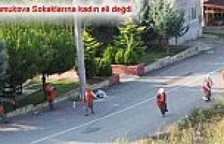 Pamukova Sokakları Kadın işçilere teslim