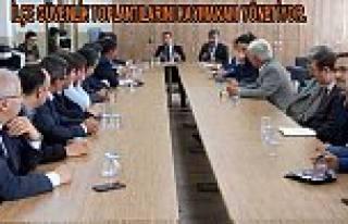 Ekim Ayı Güvenlik Toplantısı Akhisar Anadolu Lisesinde...
