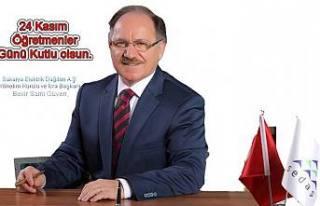 SEDAŞ Y.K.Baskanı Sami Güven Tüm Öğretmenlerin...