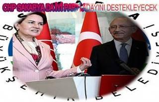 CHP ve İyi Parti Anlaştı. Sakarya'da oylar İyi...