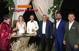 Sivasspor'un orta saha oyuncusu Pamukovalı Emre...
