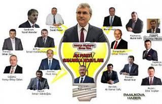 Ak Parti adaylarını açıkladı. Sıra muhalefette.