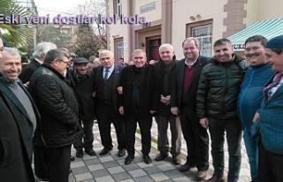 Pamukova'da her yer siyaset meydanı