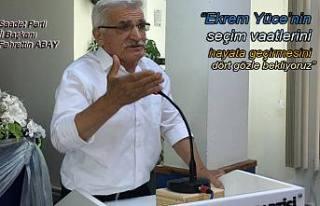 Saadet Partisi Haziran ayı İl Toplantısını Yaptı