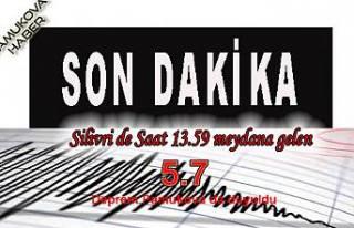 İstanbul'da şiddetli deprem: 5.7 lik depremi Pamukova...