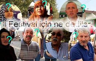 Festival için ne dediler ?