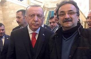 Abdullah Aydın Cumhurbaşkanı Tayip Erdoğan'la...