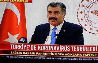 Coronanvirüs Türkiye de de görüldü.