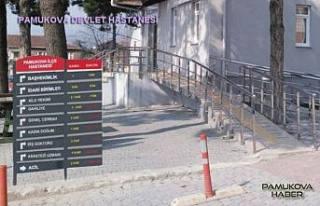 Pamukova Hastanesinde hizmetler geçici olarak durduruldu.
