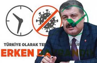 Sağlık Bakanı Korona virüsle mücadeleye neden...