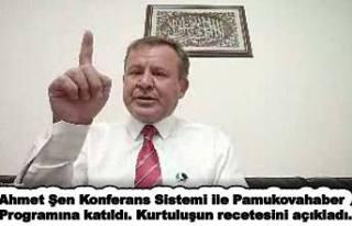 Ahmet Şen, 'Türkiye'nin Kurtuluşu için...