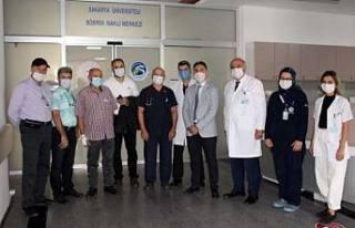 SAÜEAH'da sağlık turizminde ilk böbrek nakli...