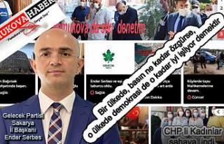 Serbes: Basını özgür olan toplumlar, mutlu toplum...