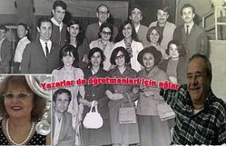 Eğitimci Yazar Ayşe Öz öğretmenini kaybetti