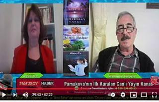 Yazar Ayşe Öz Pamukovahaber Canlı Yayın konuğu...