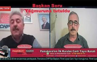 CHP İlçe Başkanı Fikret Uysal Canlı Yayın konuğumuz