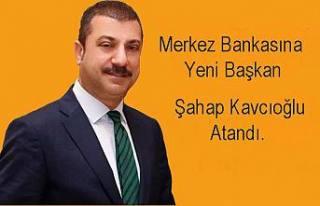 Merkez Bankası Başkanı Naci Ağbal görevden alındı.