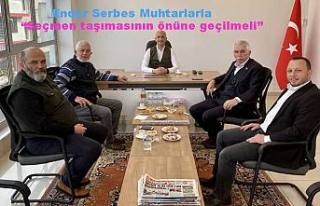 Serbes: Muhtarlık seçimleri ayrı yapılırsa siyaset...