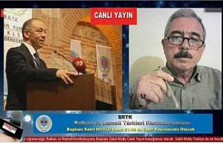 BRTK Başkanı Sabri Mutlu Pamukovahaber'in CANLI...