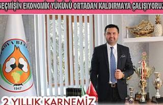 Güven Övün Belediyenin 2 yıllık dönem borçlarını...