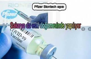 İl Sağlık Müdürlüğü BionTech aşısının...