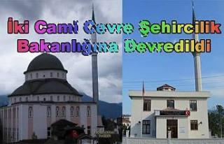 Pamukova'da 2 cami Çevre ve Şehircilik Bakanlığına...