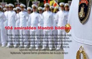 Türkiye bugün 104 Emekli Amiralin bildirisi ile...