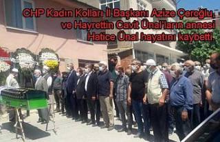 CHP Kadın Kolları Başkanı Azize Çeroğlu ve kardeşlerinin...
