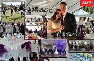 Fatma ve Emirhan çok güzel bir düğünle evlendiler.