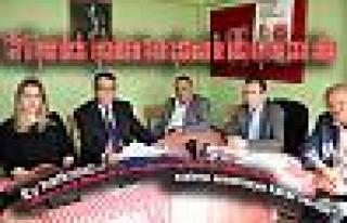 CHP Belediye Meclis üyeleri Meclis kararlarını...