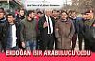 CHP İl başkanı Erdoğan Isır Arabulucu oldu Eylem...