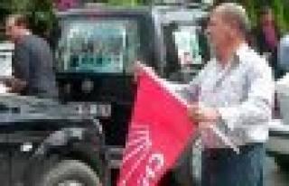 CHP liler Kılıçtaroğlu mitingine çoşku içinde...
