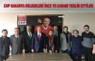 CHP'nin 14 Kurultay Delegesi İnce'ye destek imzalarıni...