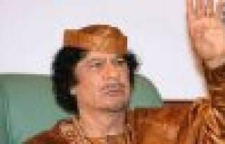 Kaddafi yi hiç böyle tanımadınız