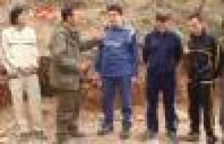 PKK'nın kaçırdığı kaymakamın son görüntüleri...