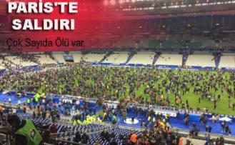 Paris'te peş peşe terör saldırıları yapıldı