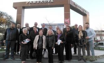 CHP +  İYİ Parti Adayı Eryiğit'e destek için bugünde Ankara Milletvekili Gökhan Günaydın geldi.