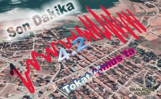 Tokat'ta 4.2 şiddetinde deprem oldu