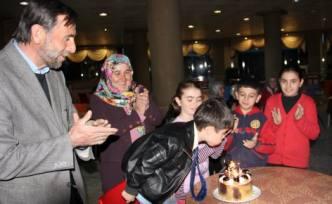 Tacettin Efe'nin oğlu Aziz Mahmut Altı yaşına bastı.