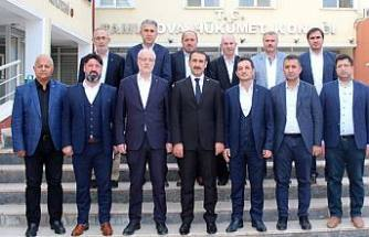 TÜMSİAD yönetimi Pamukova'da
