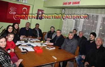 CHP İlçe Yönetimi tanışma toplantısında
