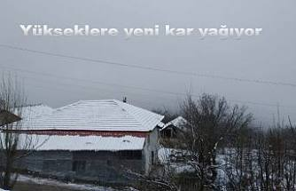 Yükseklere yeni kar yağdı